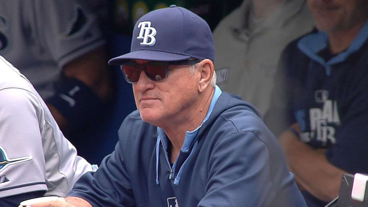 With Maddon out, Rays prepare for managerial search