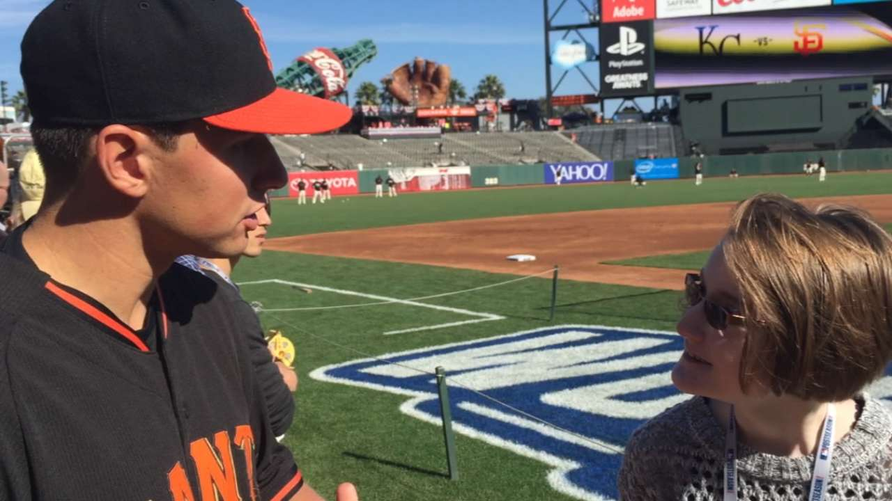 Panik's effort, attitude make him a perfect fit with Giants