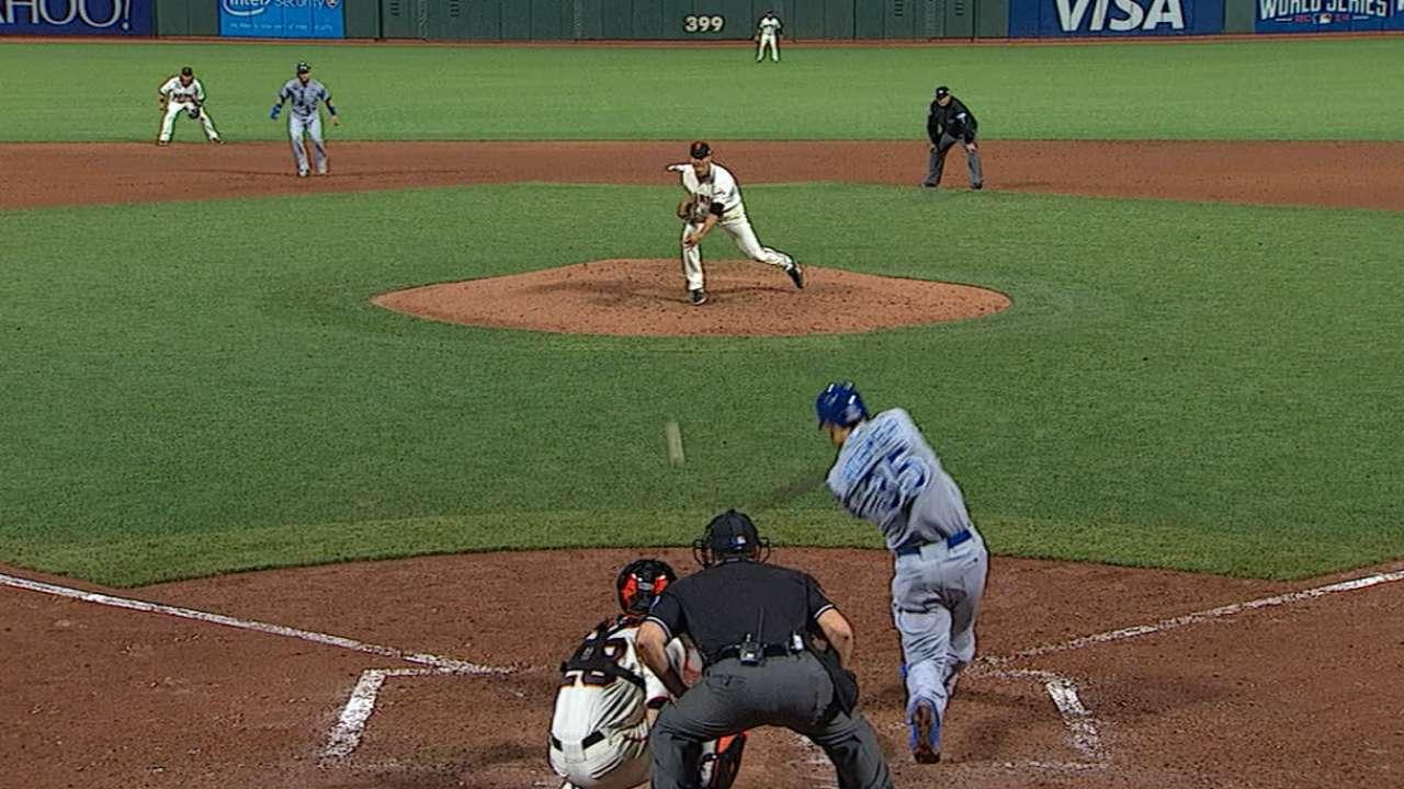 Hosmer's 11-pitch at-bat epitomizes KC kids' growth