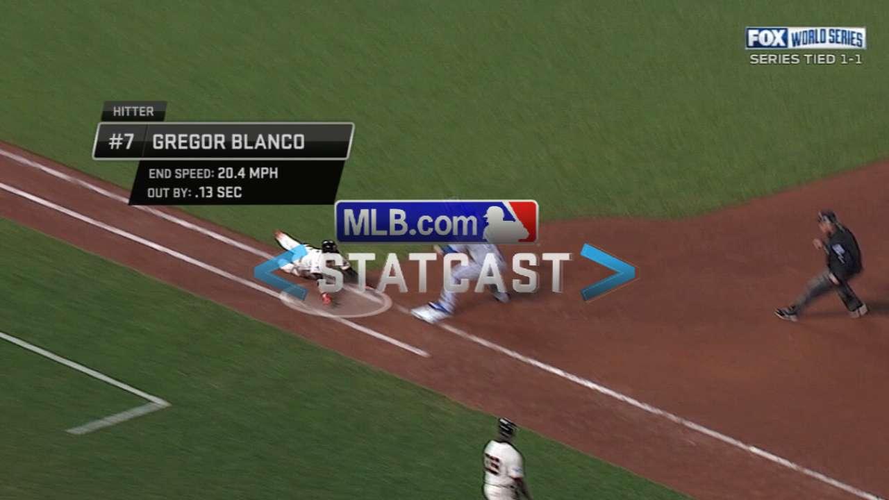 Statcast: Perez retires Blanco