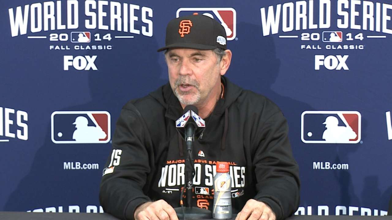 Bochy on 3-2 loss in Game 3