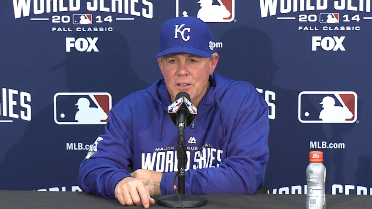 Oct. 24 Ned Yost postgame interview
