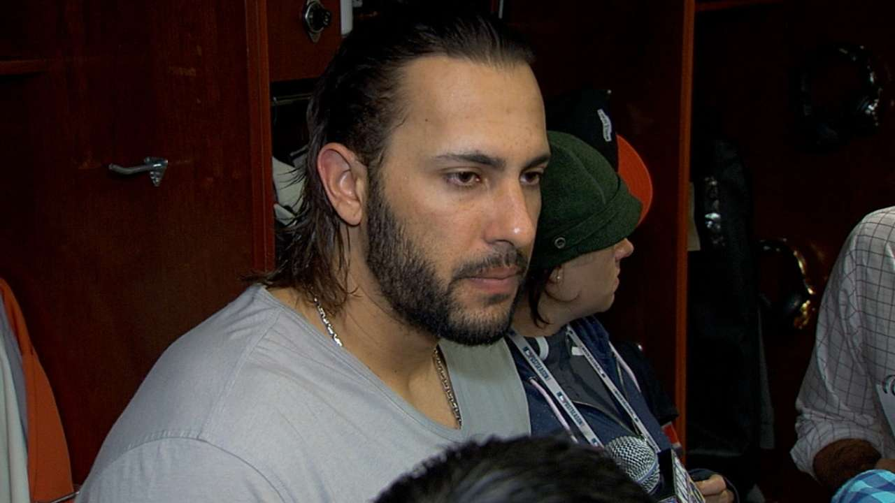 Morse on Game 3 loss to Royals