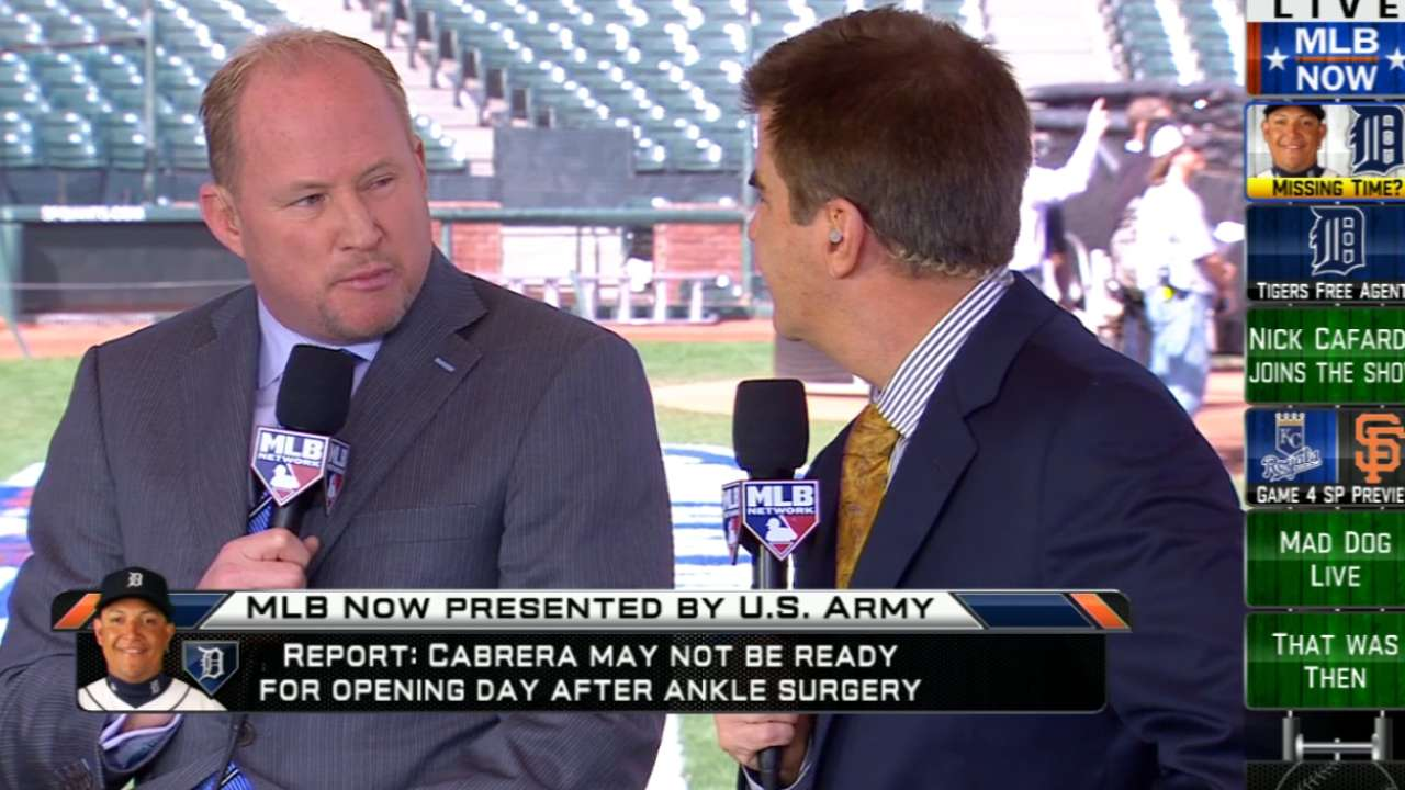 Miggy's ankle surgery reveals foot fracture