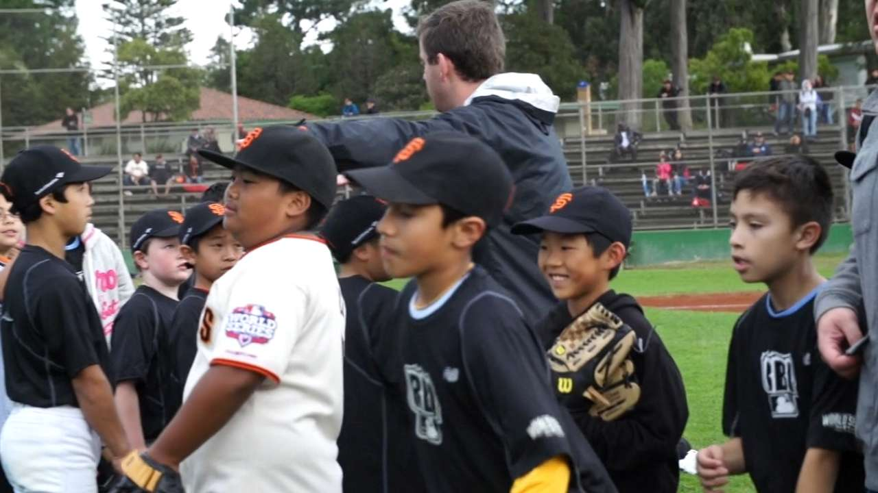 RBI youth clinic, showcase takes place in San Francisco