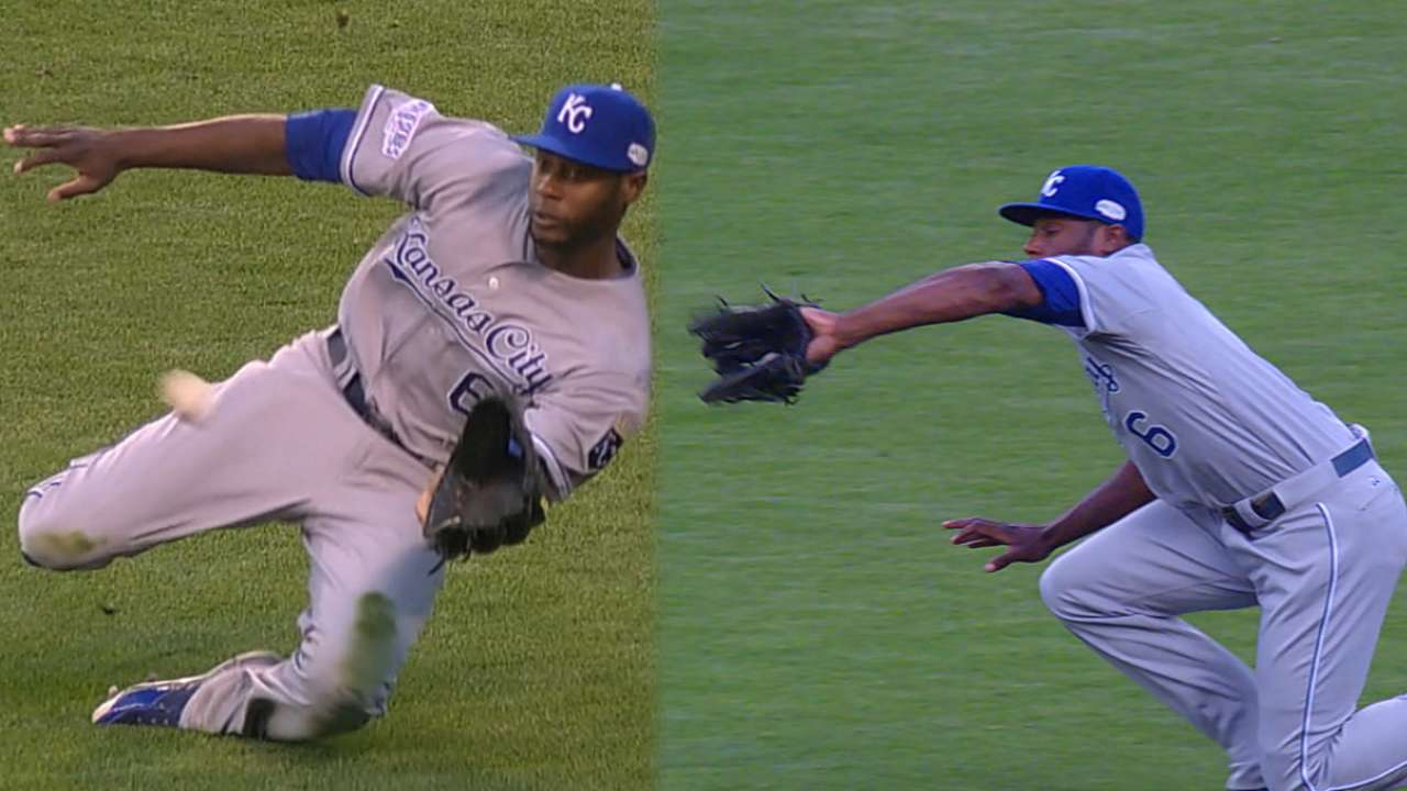 Must C: Cain all over outfield