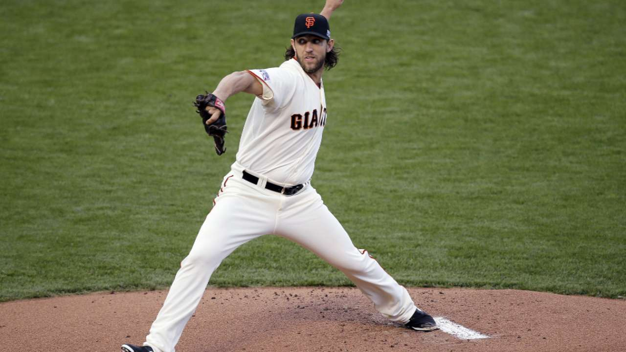 Bumgarner on Game 4 rumors