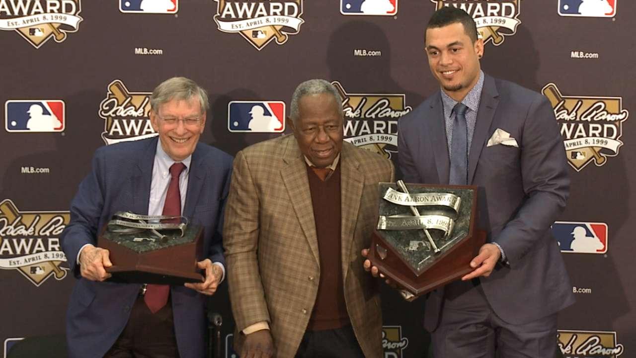 Oct. 25 Hank Aaron Award interview