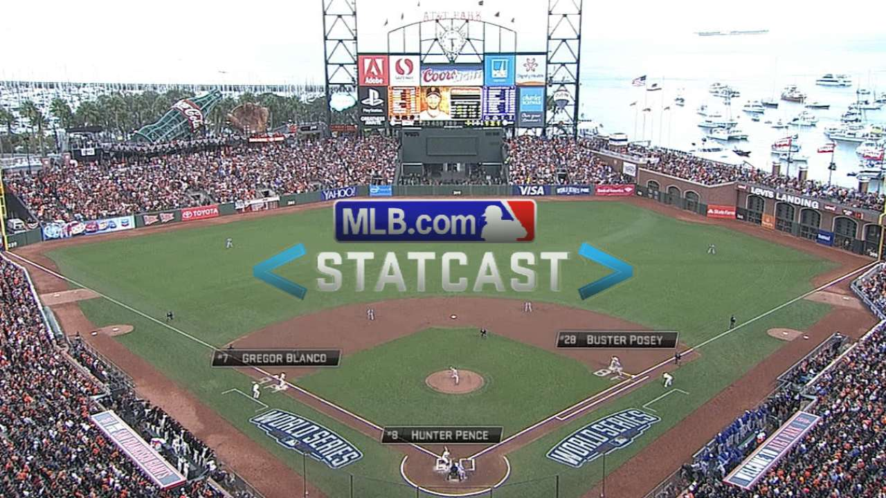 Statcast: Speed gets Giants run