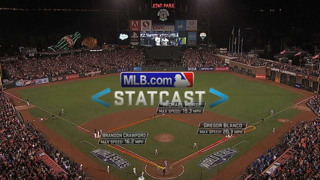 Statcast: Crawford scores