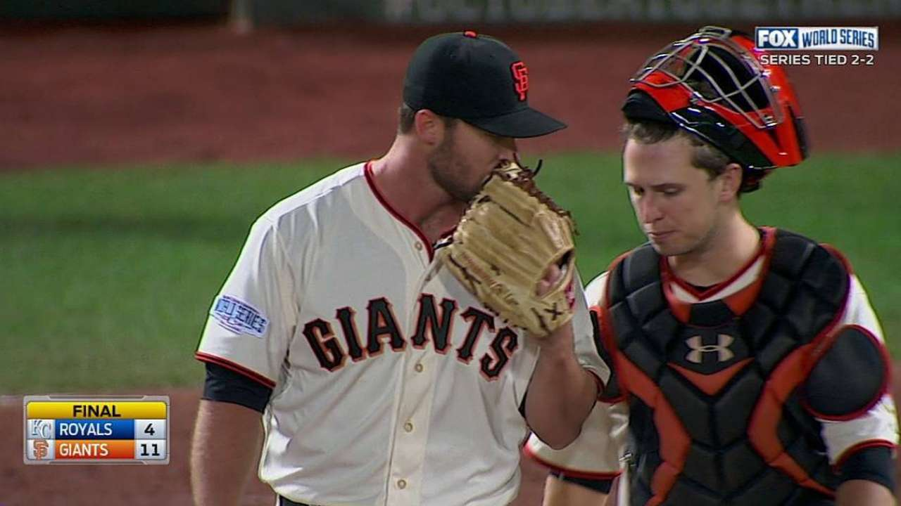 Strickland learns in postseason he has work to do