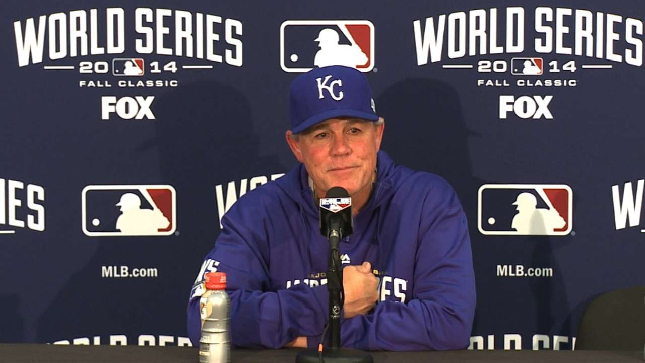 Yost on Royals' effort