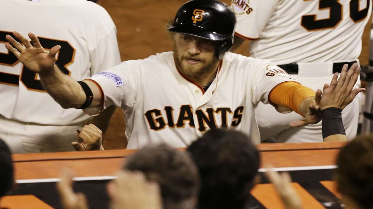 Giants discuss WS Game 4 win