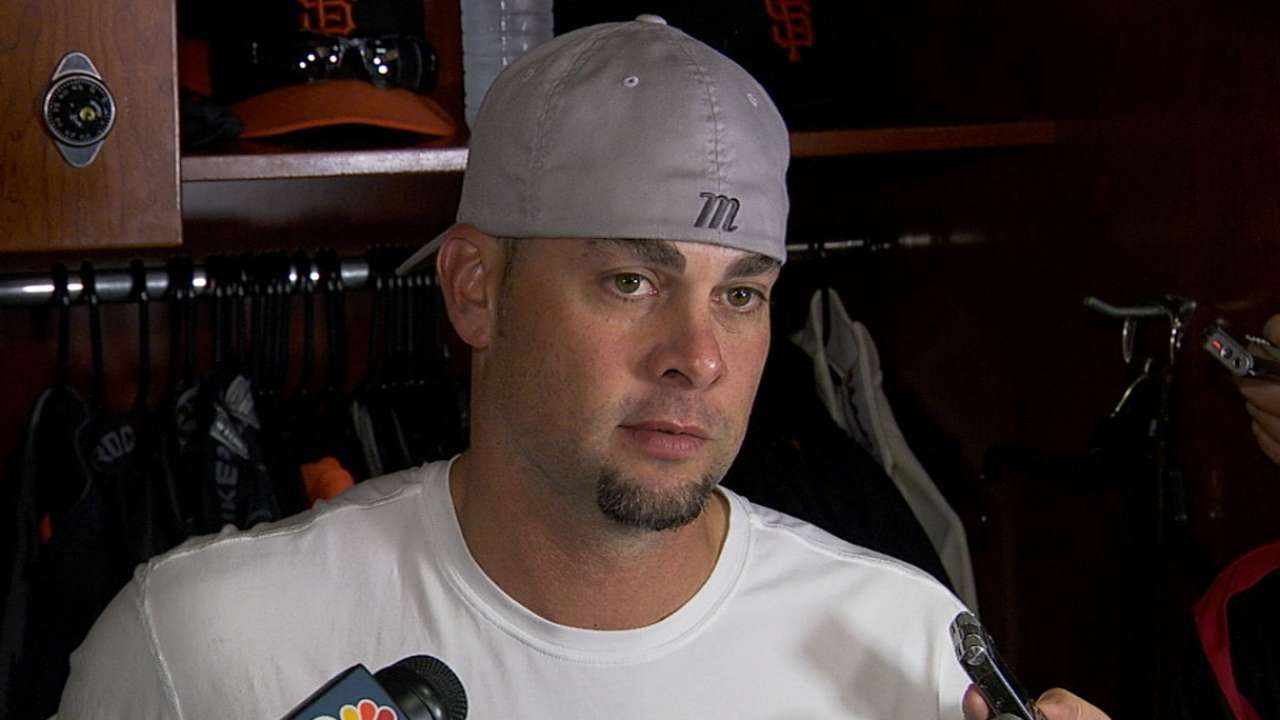 Vogelsong on bullpen in Game 4