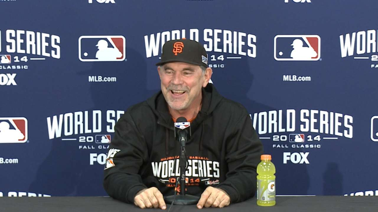 Bochy on team's travel plans
