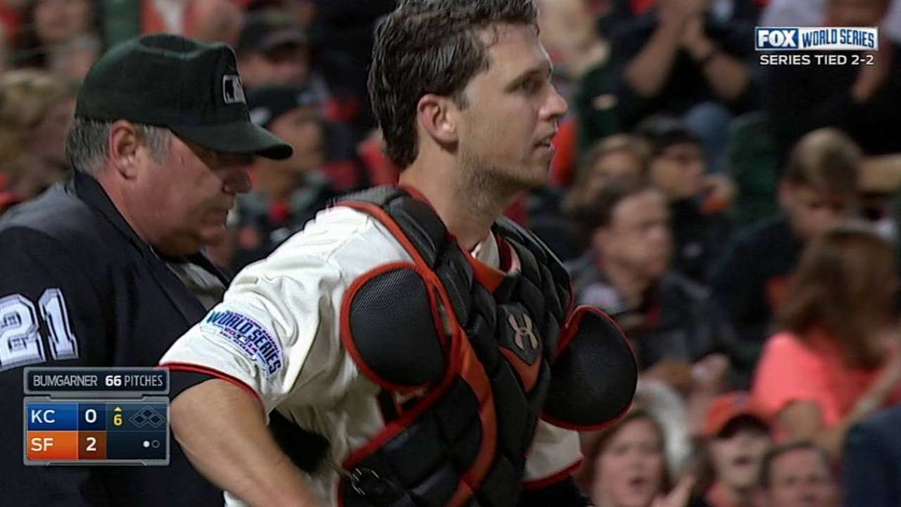 Posey a 'franchise catcher,' won't move to third