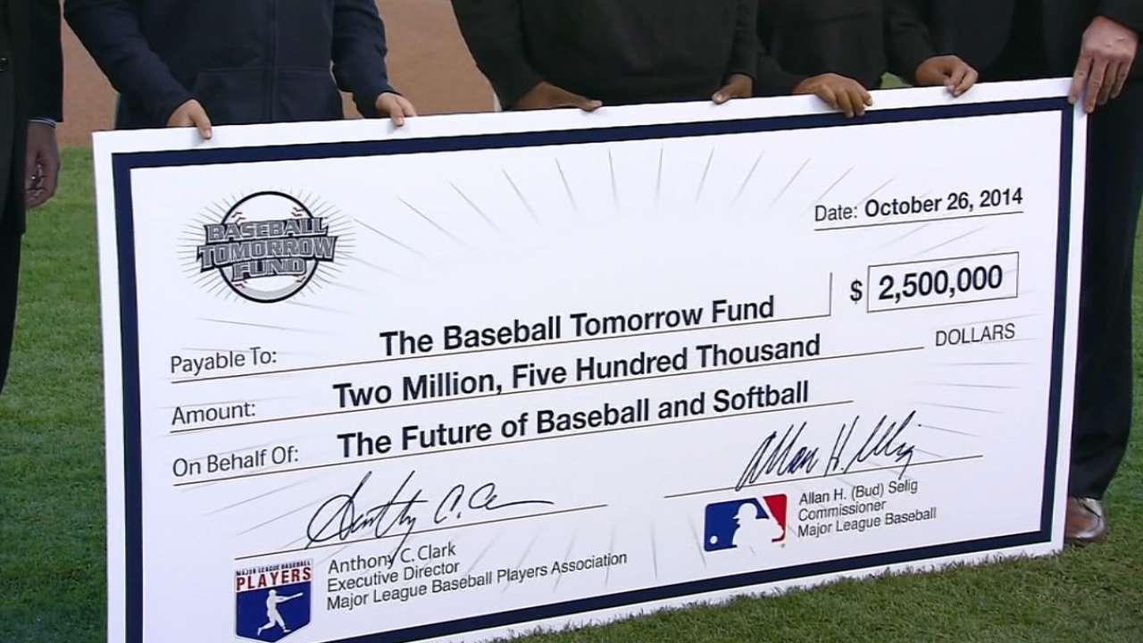 MLB supports future athletes