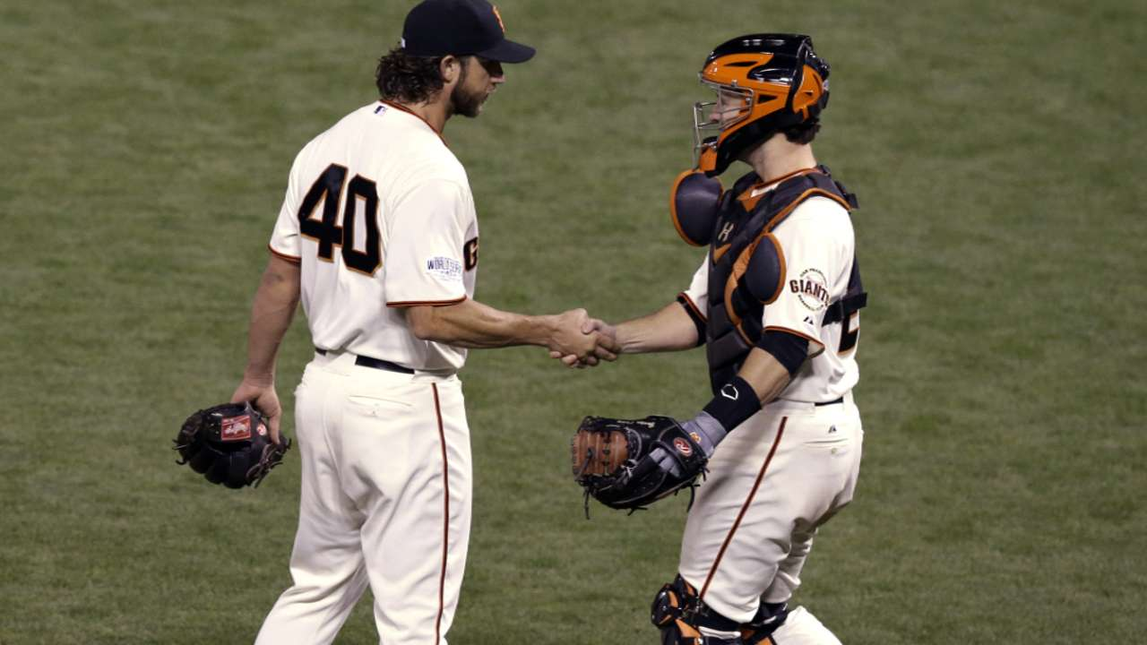 Oct. 26: Madison Bumgarner postgame interview