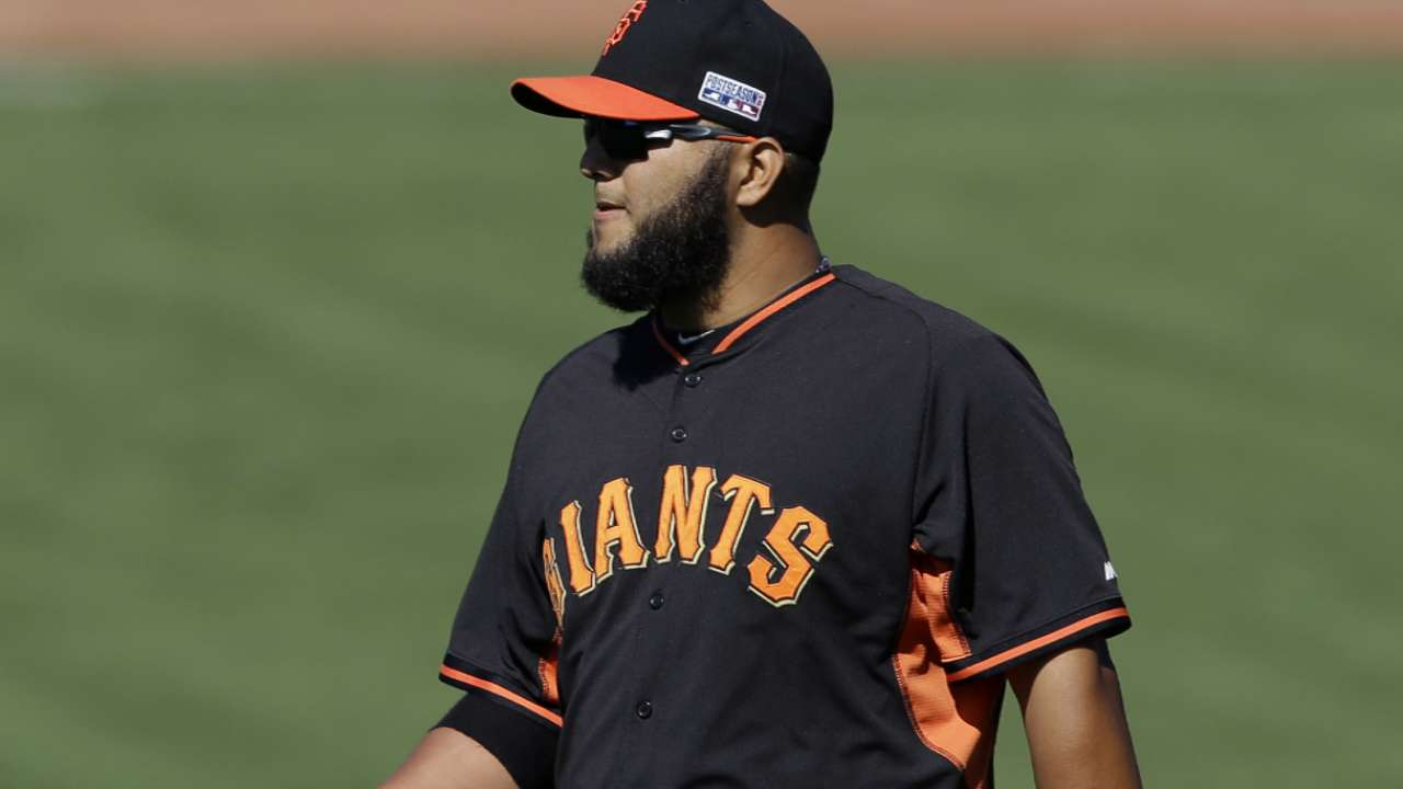 MadBum gives Giants' bullpen a much-needed rest