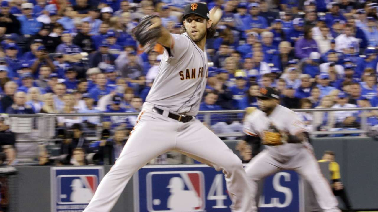 Bumgarner could be available in Game 6
