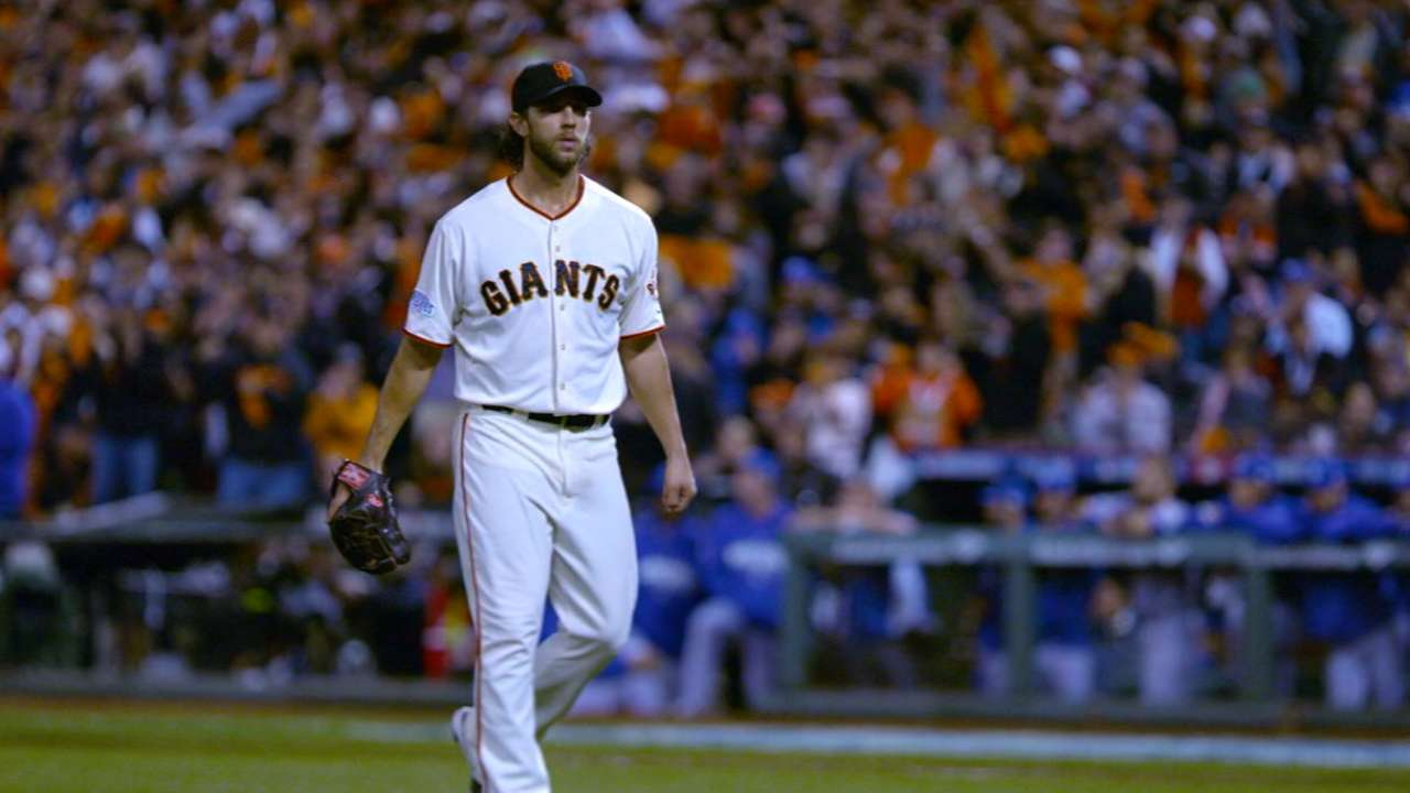 Complete control: Giants stingy with walks