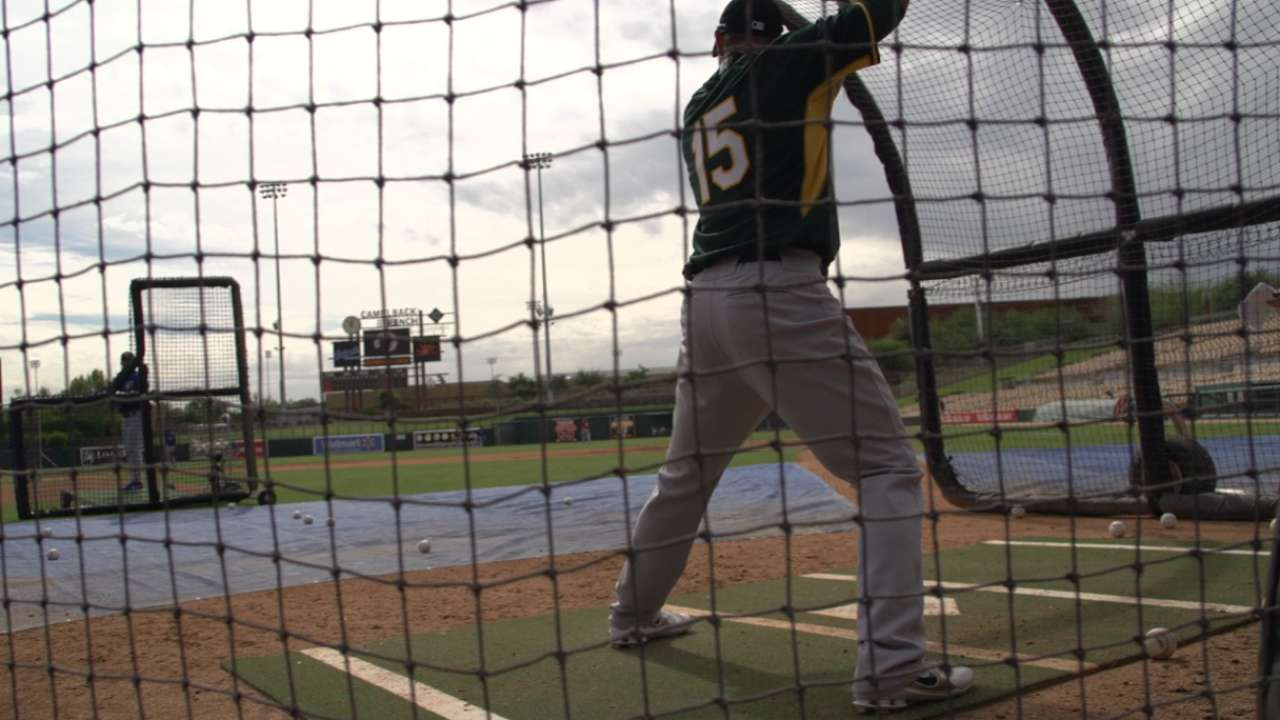 Determined Robertson leads A's prospects in AFL