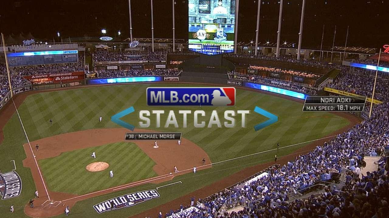 Statcast: Aoki runs it down