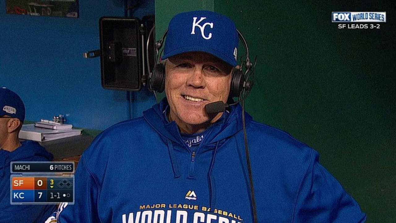 Oct. 28 Ned Yost postgame interview