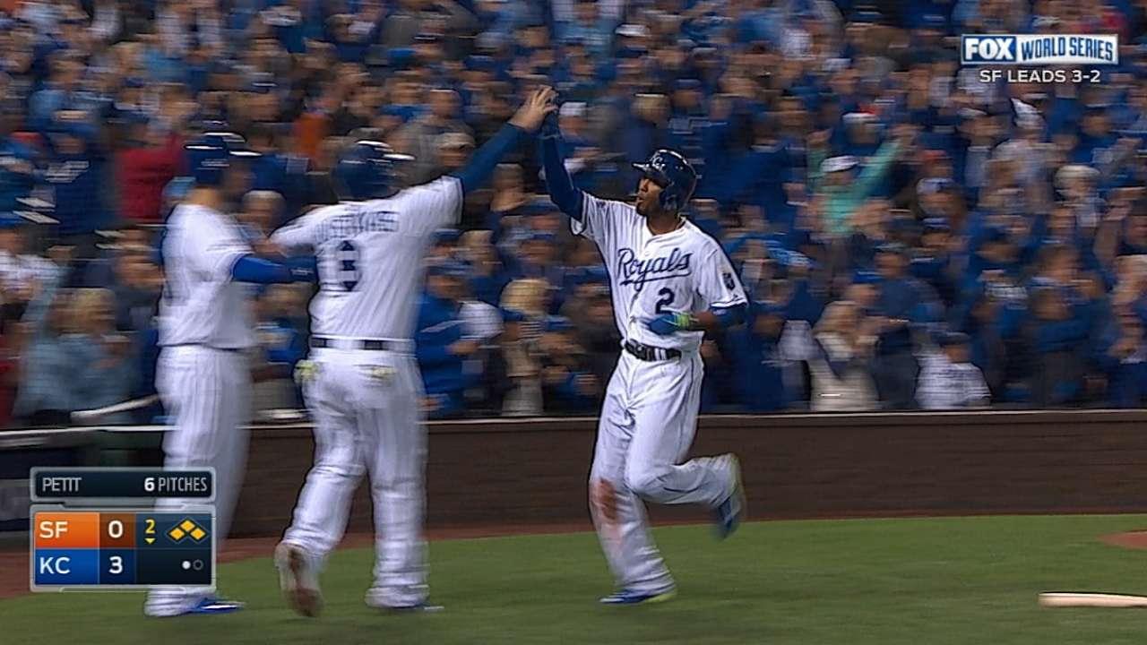 MLB Notebook: Rookie, big bats keep Royals' hopes alive