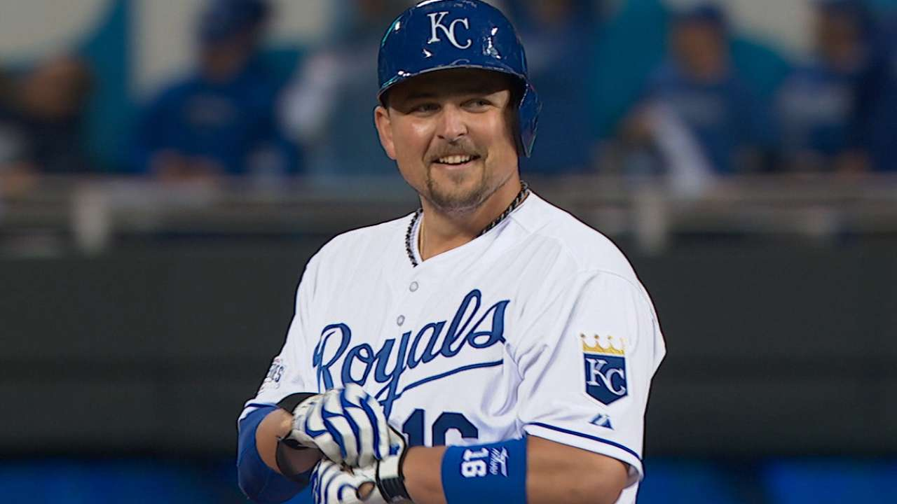 Royals plate seven runs in 2nd