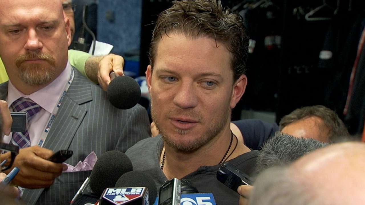 Giants win in Game 7 would put Peavy in exclusive club