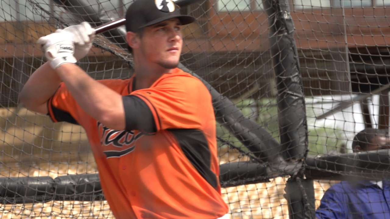 Davies continues dealing in Fall League play