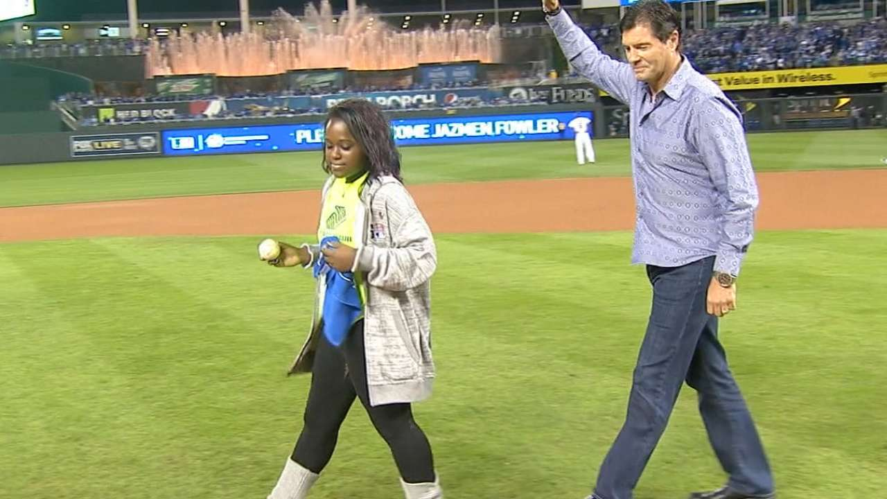 Gubicza delivers game ball
