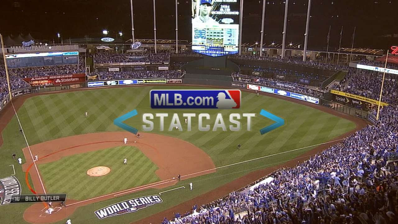 Statcast: Butler chugs home