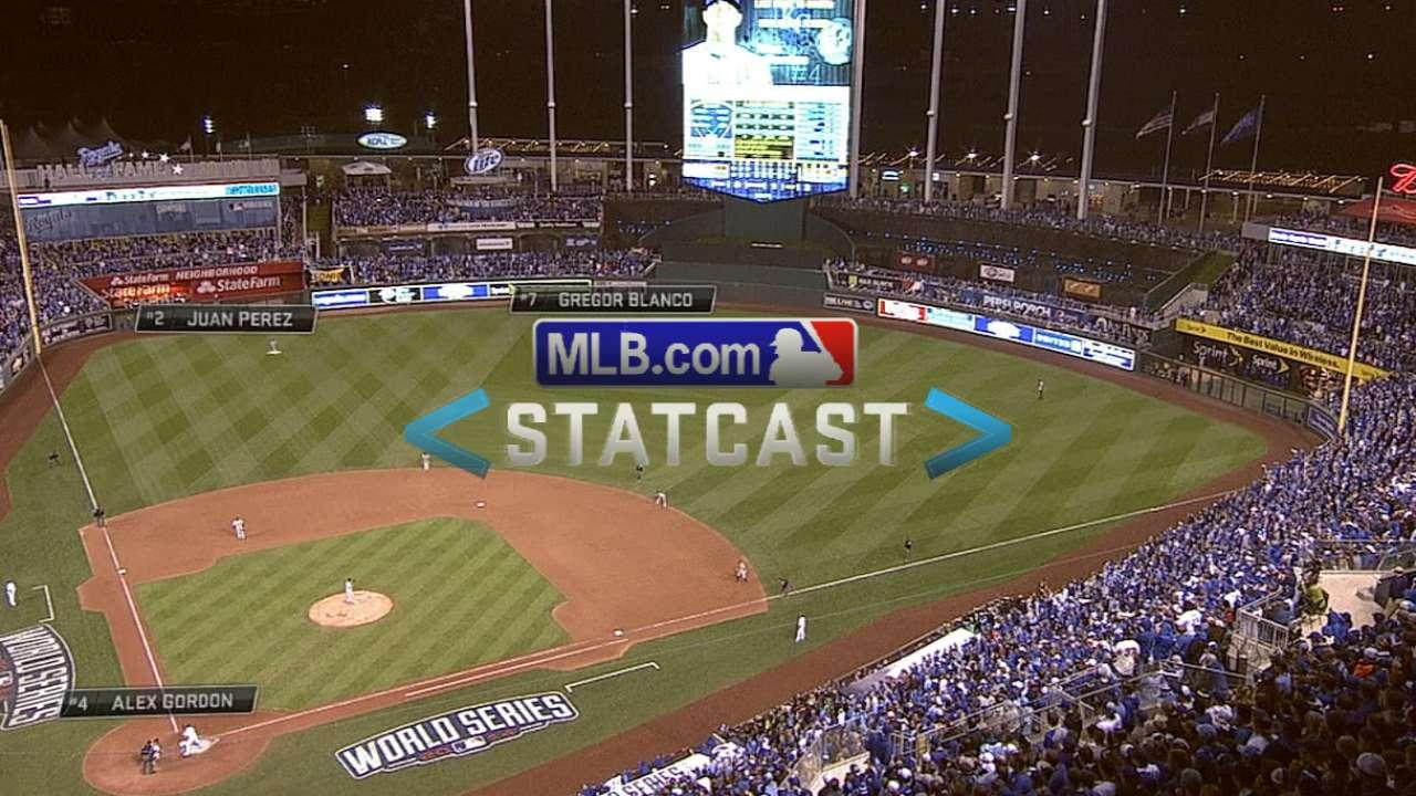 Statcast: Gordon hustles in 9th