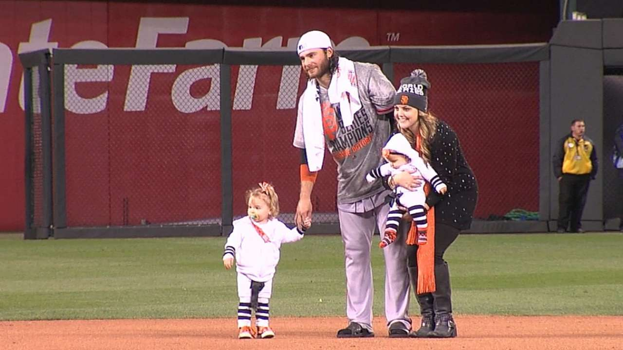 Baseball fathers cherish time with family