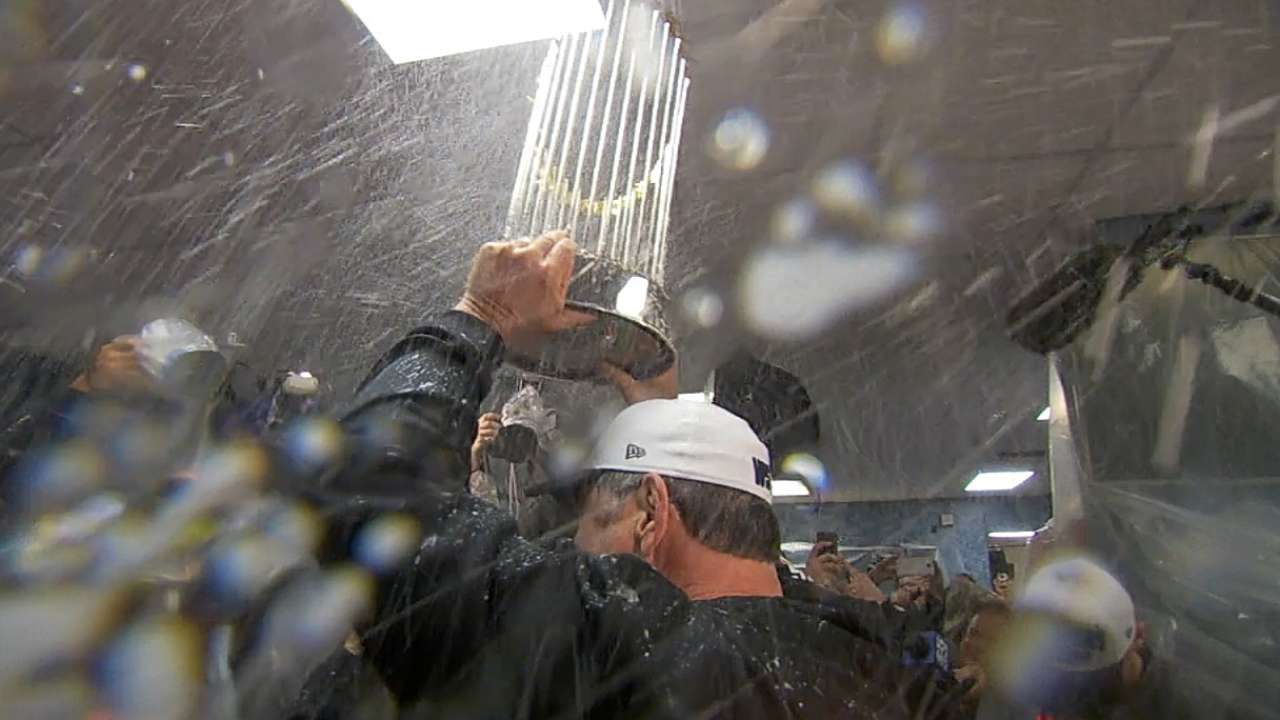 Giants' World Series victory parade slated for today