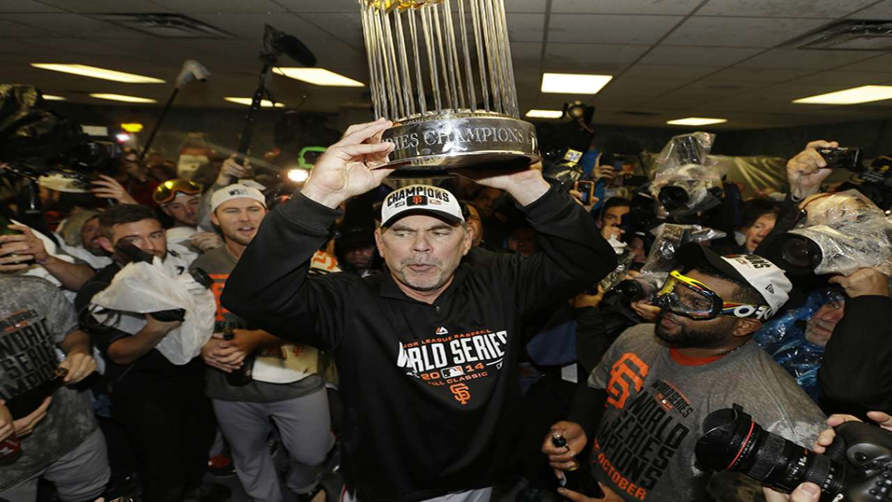 Bochy on third championship