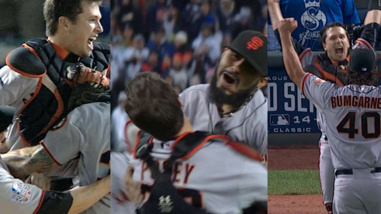 Giants add another WS trophy