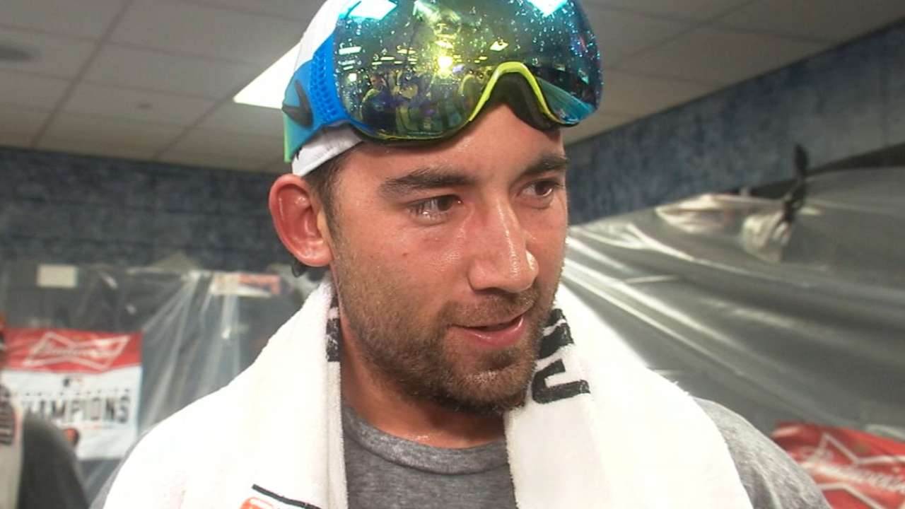 Ishikawa on winning World Series