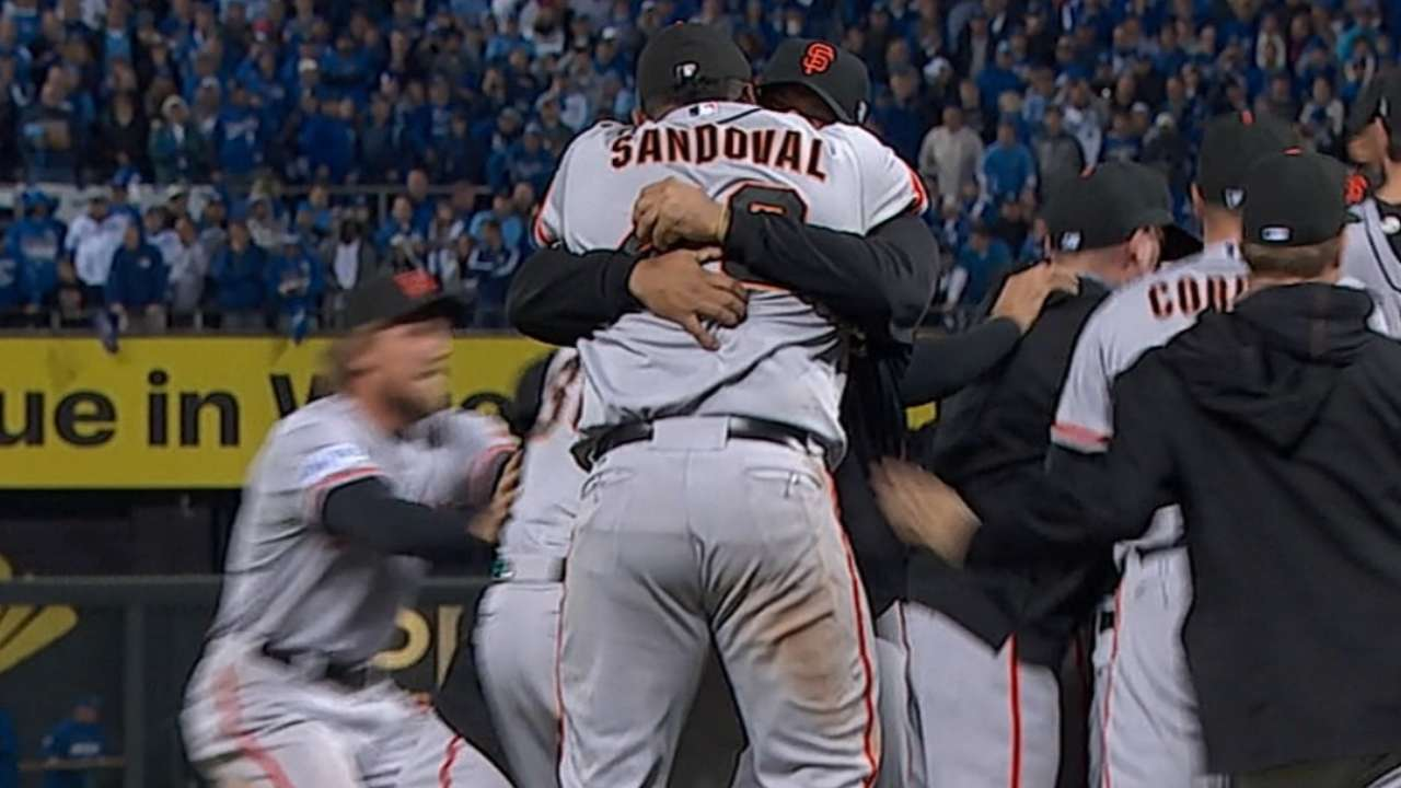 Giants win a classic Game 7