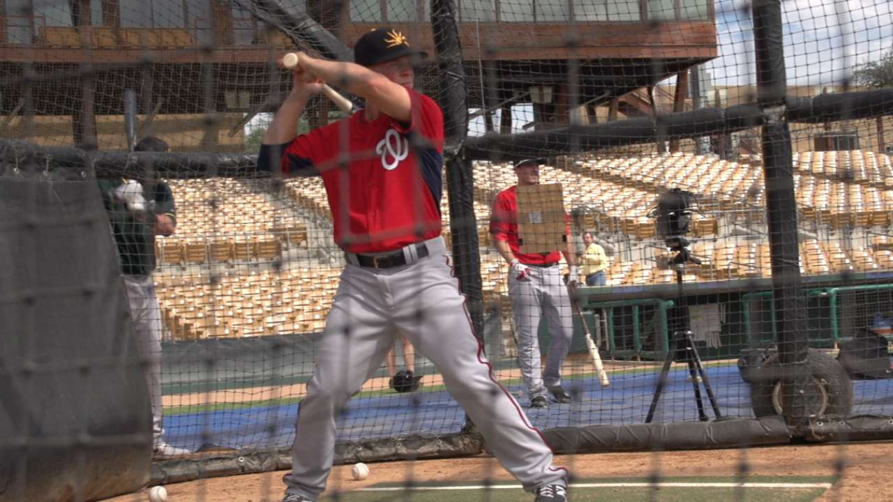 AFL Report: Washington Nationals