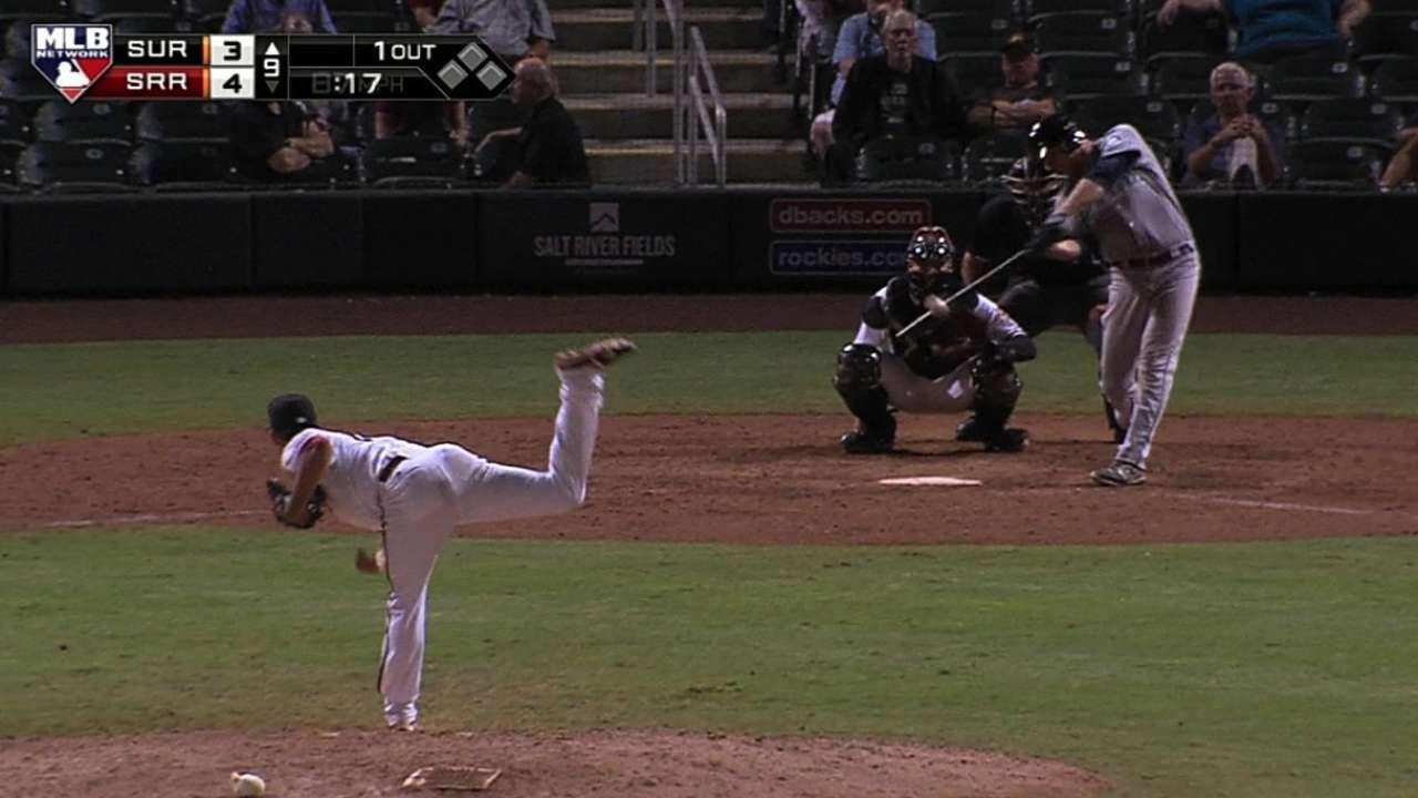 Hicks' solo home run