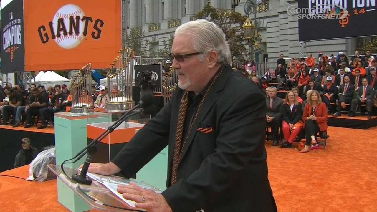 Sabean explains Giants' success