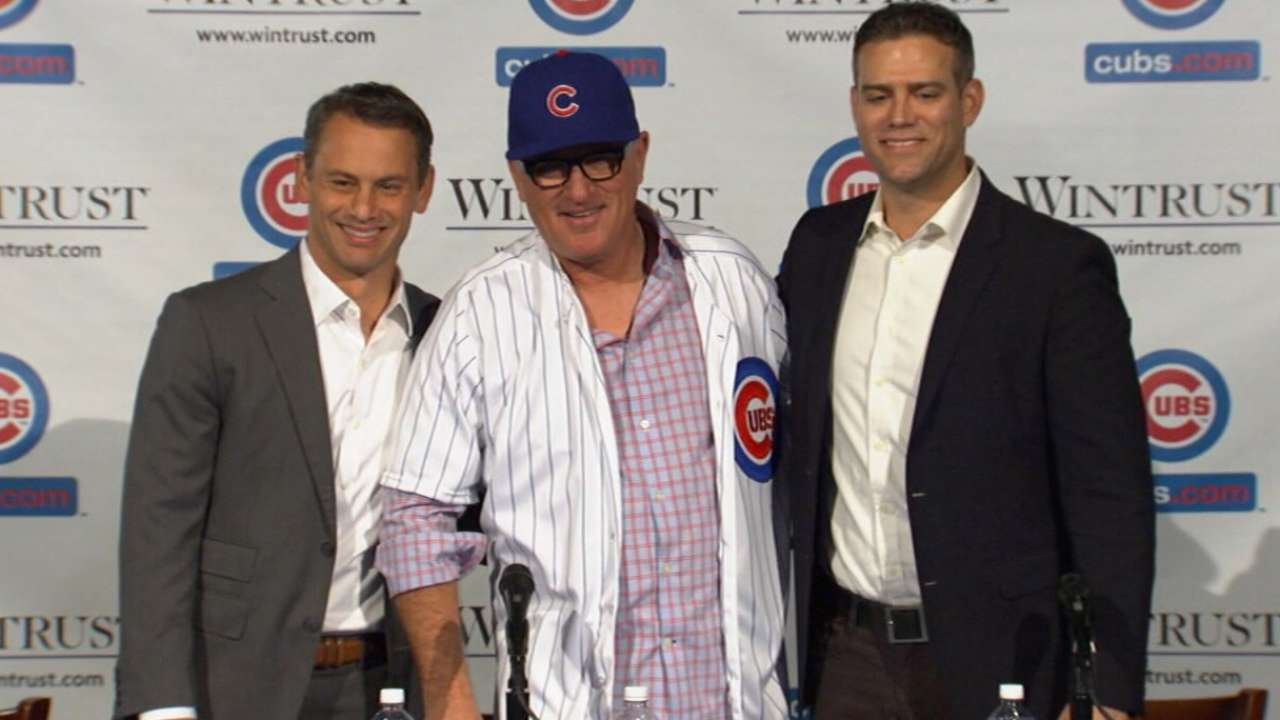 Maddon on being new Cubs skipper