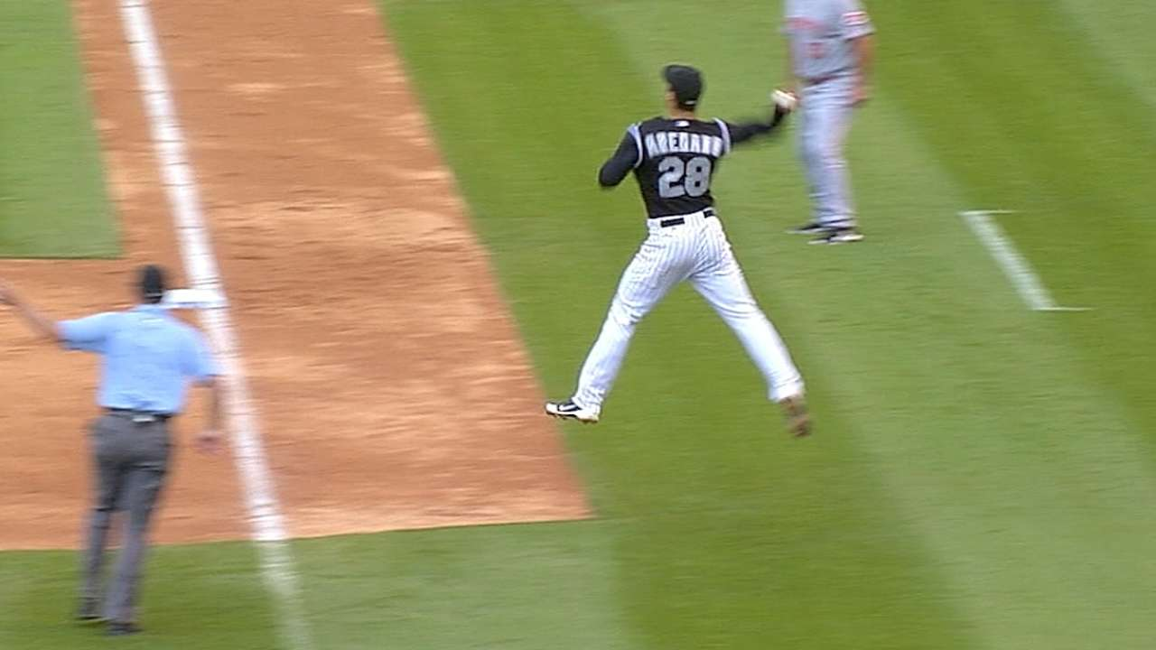 Arenado wants to be Rockies' driving force