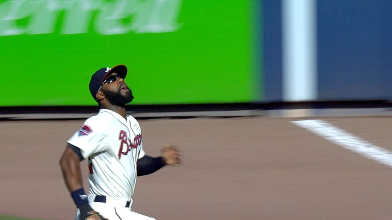 Braves' two Gold Glove winners