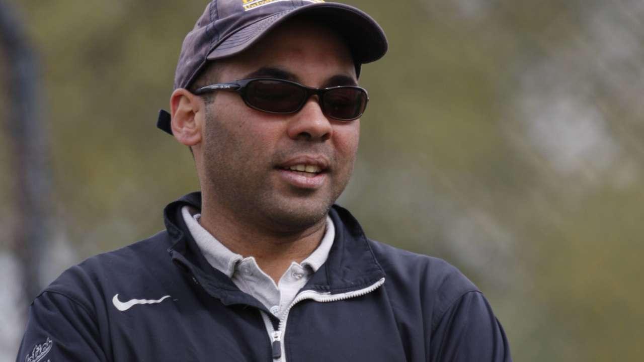 Dodgers hire Zaidi, Byrnes