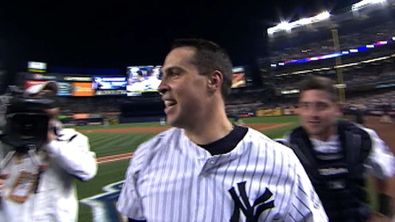 Teixeira's walk-off homer