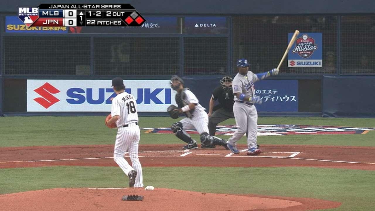 Maeda y su relevo fueron demasiado para los de MLB